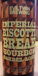 Imperial Biscotti Break Bourbon Barrel Aged
