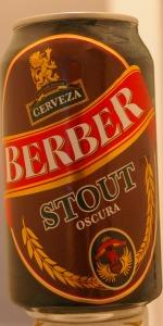 Berber Cerveza Oscura (Stout)