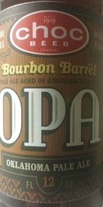 Bourbon Barrel OPA (Oklahoma Pale Ale)