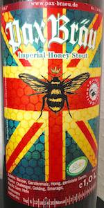 Imperial Honey Stout