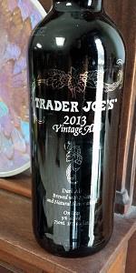 Trader Joe's 2013 Vintage Ale
