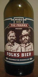 Mad3 Folks Bier