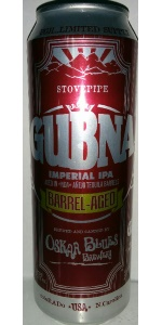 GUBNA Imperial IPA (Tequila Barrel-Aged)