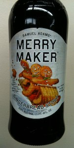 Merry Maker Gingerbread Stout
