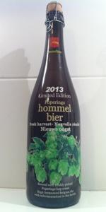 Hommelbier Nieuwe Oogst 2013