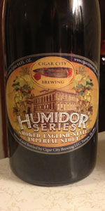 Smoked English Style Imperial Stout (Humidor Series)