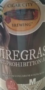 Wiregrass Post-Prohibition Ale