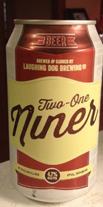 Two-One Niner Premium Pilsner