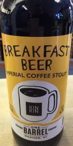 Breakfast Beer Oatmeal Stout