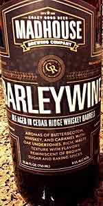 Barleywine Aged In Cedar Ridge Whiskey Barrels