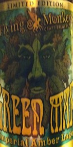 Flying Monkeys Green Man Imperial Amber Lager