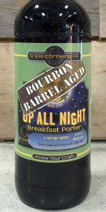 Bourbon Barrel Aged Up All Night Breakfast Porter