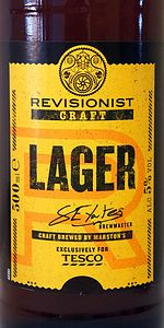 Revisionist Craft Lager
