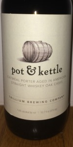 Pot & Kettle - Bully Boy American Straight Whiskey Barrel Aged