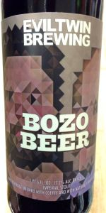 Evil Twin Bozo Beer