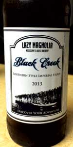 Black Creek Southern Style Imperial Stout
