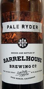 Pale Ryder - Rye Style Pale Ale