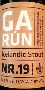 Garún Icelandic Stout NR.19