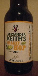 Alexander Keith's Galaxy Hop Ale