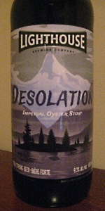 Desolation Oyster Stout