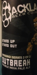 2nd Beer Of Uprising Series: Outbreak