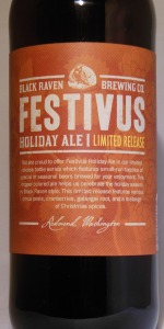 Festivus Holiday Ale