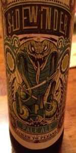 Ballistic Brewing Co. - Sidewinder Pale Ale