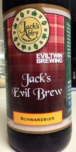 Jack's Abby / Evil Twin Jack's Evil Brew