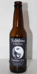 Kuhnhenn Forbidden IPA