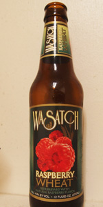 Wasatch Raspberry Wheat Beer
