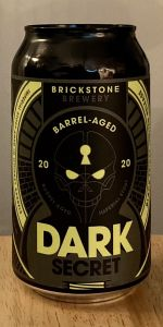 Dark Secret - Bourbon Barrel Aged