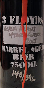 Barrel Aged Alpha Klaus With Tart Cherries