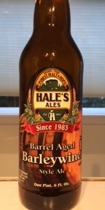 Hale's Barrel Aged Barley Wine
