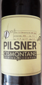 Single Malt Pilsner