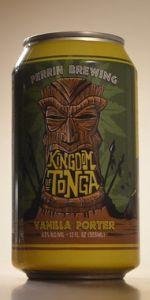 Kingdom Of Tonga Vanilla Porter