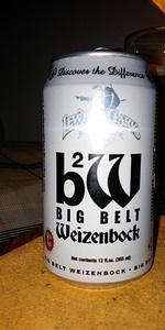 Big Belt Weizenbock