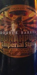 Hunahpu's Imperial Stout - Double Barrel Aged