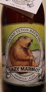 Lazy Marmot Maibock