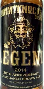 Legend 2014 20th Anniversary Olde Oaked Brown Ale