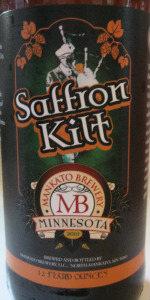 Saffron Kilt Pale Ale
