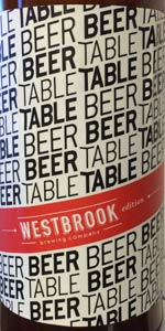 Beer Table - Table Beer