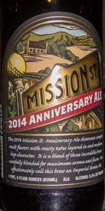 Mission St. Anniversary Ale 2014