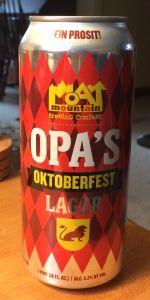 Moat Octoberfest / Märzen