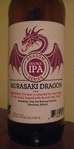 Dragon Series Murasaki Dragon Double IPA