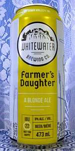 Farmer's Daughter Blonde Ale