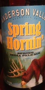 Spring Hornin' Spring IPA