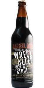 Barrel Aged Vanilla Bean Wreck Alley