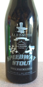 AleSmith Speedway Stout - Jamaica Blue Mountain Coffee