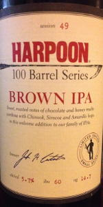 100 Barrel Series #49 - Brown IPA