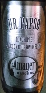 Hr. Papsø Quadruple - Aged On Bourbon Barrels